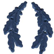 MILITARY NAVY BLUE SCRAMBLED EGGS Iron On Patch Trim Accent