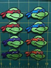 Teenage Mutant Ninja Turtles iron-on appliques