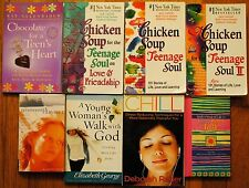 Teen Christian Girls Love Friendship Chicken Soup for the Teenage Soul BOOK LOT