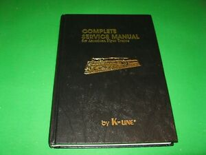 """American Flyer Service Manual by K-Line """"Excellent"""""""