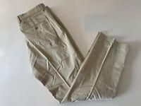 EXPRESS PRODUCER Men's Khaki Casual Pants Size 33/32 Flat Front