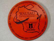 Harley Davidson 105th Anniversary ride home Wausau Collectible, drink coaster
