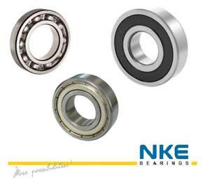 NKE 16000 Series Ball Bearing - Open ZZ 2RS C3