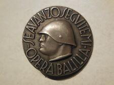 Italy fascist badge Opera Balilla