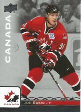 Joe Sakic #95 - 2017 Team Canada Juniors - Base Retired