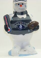 UNR's WOLFPACK Melting snowman with football & wolf logo