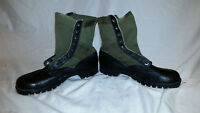 CIC 1960s GREEN VIETNAM HOT WEATHER SPIKE PROTECTIVE JUNGLE BOOTS JJ 311