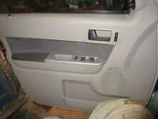 08 09 10 11 12 FORD ESCAPE LEFT FRONT DRIVER SIDE INTERIOR DOOR PANEL gray