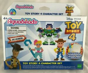NEW Aquabeads Aqua Beads Toy Story 4 Character Craft Set Kids Water Crafts