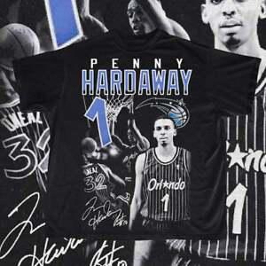 Penny Hardaway Orlando Magic N.B.A Basketball T Shirt Funny Vintage Gift For Men
