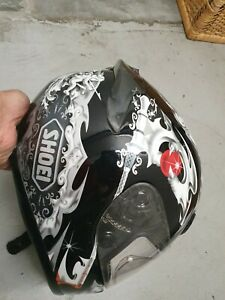 Motorradhelm SHOEI XR 1100 Diabolic Gr. M  top Helm mit tollem Design.