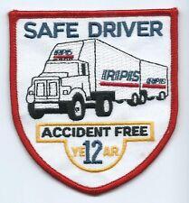 RPS Roadway Package Syatem 12 yr accident free safe drvr patch 3-3/4X3-3/8 #1025