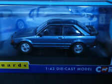 Ford  Escort XR 3i in Caspian Blue with grey    RHD Corgi Vanguards 1:43 rd.