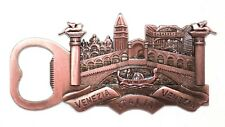 Venice Tourist Travel Souvenir 3D Metal Bottle Opener Fridge Magnet Gift