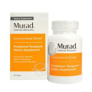 Murad Pomphenol Sunguard Anti-Ageing Supplement 60 tablets EXP 05/31/21