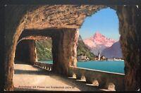 1935 Lucerne Switzerland Zionist Congress Picture Postcard Cover To Palestine