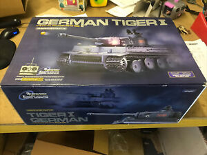 Heng Long Radio Remote Control RC German Tiger Sealed In Box