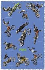 FREESTYLE MOTOCROSS POSTER - 24x36 SHRINK WRAPPED BIKES STUNTS FMX 1358