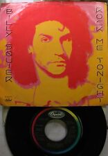 Rock Picture Sleeve 45 Billy Squier - Rock Me Tonite / Can'T Get Next To You On