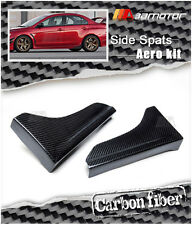 Carbon Fiber K Style Rear Side Skirt Spats for EVO 10 Evolution X with Aero Kits