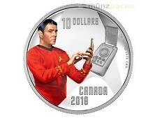 10 $ Dollaro Star Trek Ingegnere Scotty Enterprise Canada 1/2 oncia PP argento