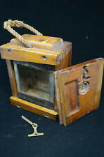 Post Ww1 British Canadian 9mm Wooden Ammunition Crate Box Ammo