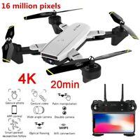 2020 NEW RC Drone 4K HD Wide Angle Camera Wi-Fi FPV Drone Dual Camera Quadcopter
