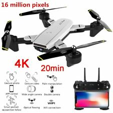 Eachine FPV Drone with 4K HD Wifi HD Camera RC Quadcopter GPS Follow Me US Fast
