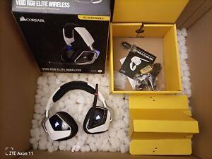 Corsair VOID RGB ELITE Wireless Gaming Headset - Weiß