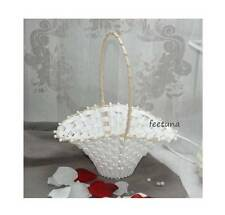 3 Streukörbchen Blumenkinder weiß Blumenkörbchen Hochzeit Blumen streuen
