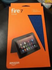 Amazon Kindle Fire 7 Cover 7th Generation Blue Fabric New!!!