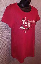 Florida State Seminoles Garnet Sewn Patch Girly T-Shirt EUC - Juniors XL