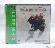 Games/jeux Video Sony Playstation 1 One Ps1 vers NTSC Version USA /occas Ff7 Final Fantasy Anthology 1er ED