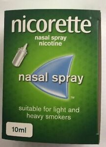 NICORETTE 10ml Nasal Spray - FREE INTERNATIONAL SHIPPING