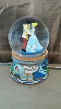 Disney Cinderella Musical Water Globe New! A Dream Is A Wish Your Heart Makes