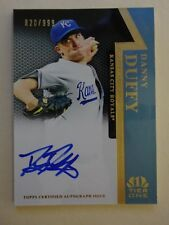 2011 Topps Tier One On The Rise Autographs Danny Duffy #DD #820/999