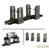 DAPR - N Gauge Model Railway Scenery Building Kit - Train Lift / Jack Ramps x 4