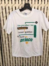 Vtg Prince Tennis Tee Shirt Mens Small Gildan