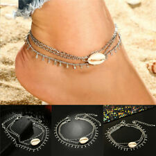 Boho Shell Barefoot Sandals Beach Anklet Foot Chain Jewelry Ankle Bracelet