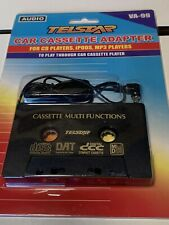Telstar Audio Car Cassette Tape Adapter For Cd iPhone Ipod Mp3 Aux Player New