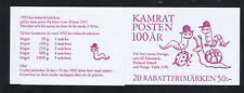 Sweden 1992 Rebate Stamp Booklet complete mint SG SB448