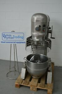 Hobart H600 60Qt dough mixer 415v 4 Speed + bowl,whisk,paddle Safety guard/switc