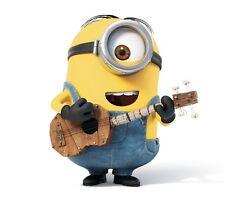 Minion Stuart Despicable Me Talking Original Movie Voice Interacts W Guitar