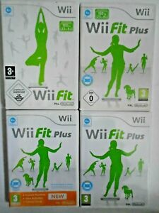 Wii FIT and Wii FIT PLUS - Nintendo Wii Games