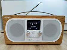 Pure Evoke H6 Oak DAB/DAB+ FM Stereo Bluetooth Radio