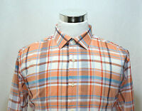 HICKEY FREEMAN Men's Long Sleeve Casual Shirt Size XL Plaid