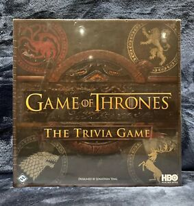 HBO Game of Thrones Trivia Game Brand NEW Sealed
