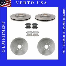 Complete Front & Rear Brake Kit Fit Acura MDX 2003-2006 with Ceramic Pads