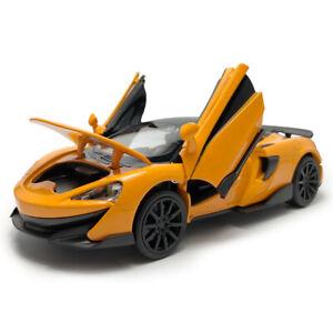 2019 McLaren 600LT 1:32 Model Car Diecast Toy Cars Pull Back Vehicle Gift Orange
