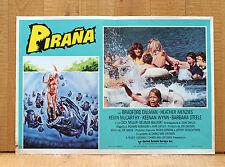 PIRANA fotobusta poster Piranha Joe Dante Kevin McCarthy Roger Corman AX23
